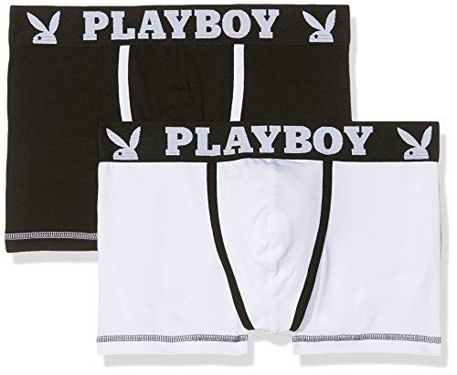 playboy-40h041-mutande-uomo-multicolore-noir-blanc-blanc-small-pack-de-2