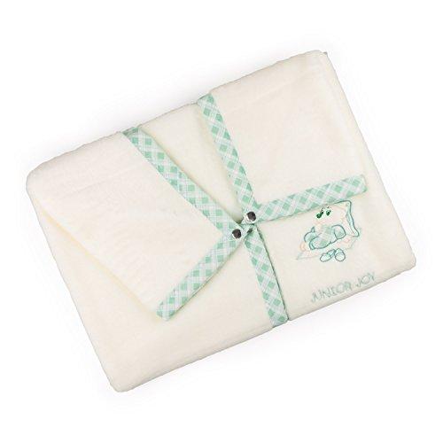 Junior Joy 6183GN Junior Joy Stickerei Agnes Baby-Verpackung, grün