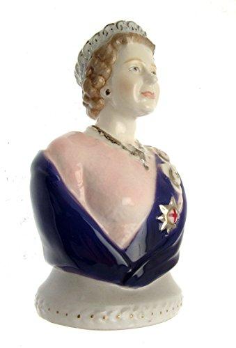 Royal Worcester RW4964 Kerzenlöscher, Queen Elizabeth Ii-Golden Jubilee Serie-Le von nur 1000 Teile-Gc30 - Goldene Elizabeth-das