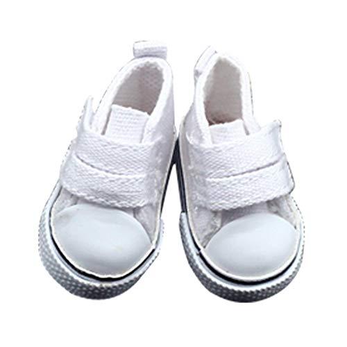Vkospy 1 pair 5 centimetri Doll tela Seakers Toy Doll calzature sportive Scarpe da tennis per bambini giocattoli del regalo