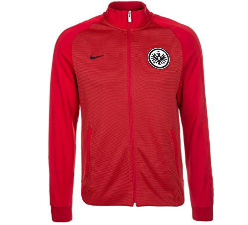 Nike Herren Frankfurt Track Jacke Eintracht, Rojo/Gym Red/Team Red/Black, XL-52/54