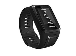 TomTom Spark 3 Cardio - Montre de Fitness GPS - Bracelet Large Noir (ref 1RK0.002.00)