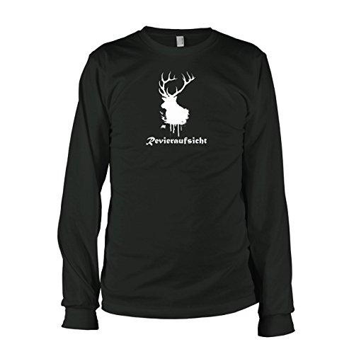TEXLAB - Revieraufsicht - Langarm T-Shirt Schwarz