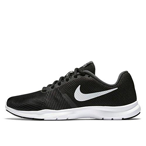 NIKE Damen Flex Bijoux Running 881863 Sneakers Turnschuhe (UK 7 US 9.5 EU 41, Black White Anthracite 001)