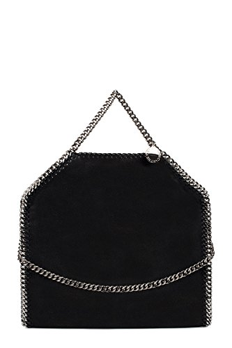 Stella-Mccartney-Womens-234387W91321000-Black-Polyester-Handbag