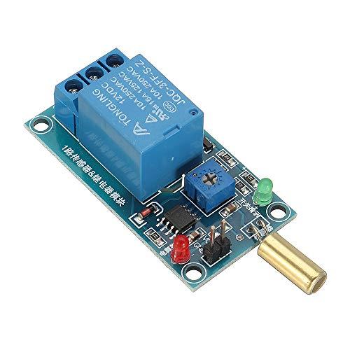 ROUHO Sw-520 Tilt Sensor Relay Modul 12V Equipment Tilt Protection Alarm Alarm Trigger Board Tilt Usb