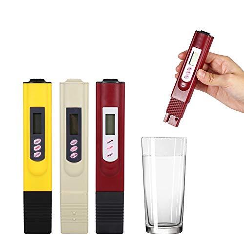 SHIJING 3 STÜCKE 0~9990ppm Tragbare LCD Digital Wasser Tester Qualitätstest Stift Reinheit Filter Insgesamt gelöst, so Meter Temp Werkzeuge Zubehör