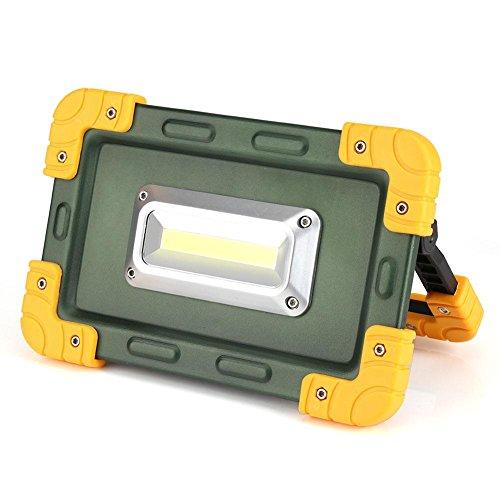 30W LED Arbeit Licht tragbare kampierende Scheinwerfer im Freien mit Notfall Sicherheit Lichter USB Port