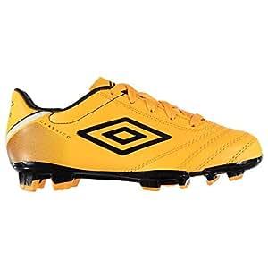 bccdddcc8293 Umbro Boys' Classico V FG Football Boots, Orange/White/Black, Size