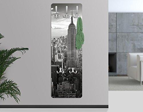 Apalis appendiabiti–manhattan skyline 139x 46x 2cm,–appendiabiti, appendiabiti da parete, appendiabiti, appendiabiti da parete, appendiabiti, attaccapanni