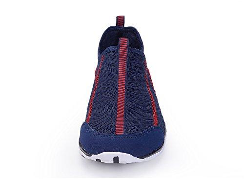 IceUnicorn, scarpe subacquee, da ginnastica, da uomo, in rete, traspiranti, ad asciugatura rapida, senza stringhe Dark Blue