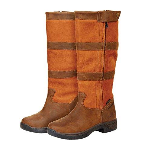 Dublin , Bottes d'équitation pour femme Marron marrón oscuro Marron - Marrón - marrón