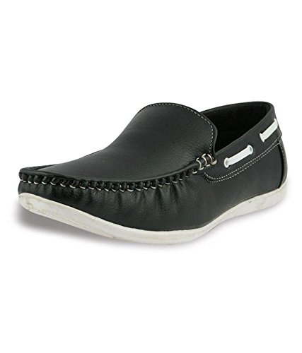 SGTS Men's Black Loafer Shoes - 7 UK  available at amazon for Rs.229