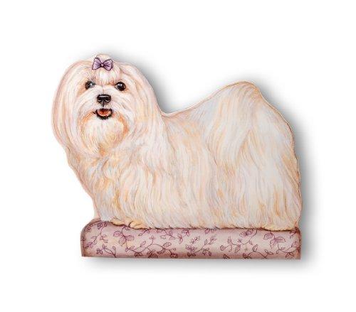Stupell Home Deko-Türstopper Hund Traditionell beige -