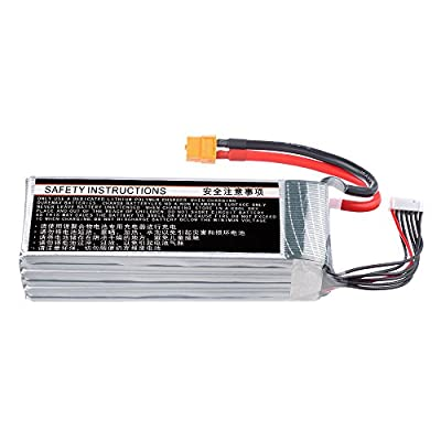 HRB 6S 5000mAh 22.2v 50C-100C RC Lipo Battery with XT60 Connector For Trex 700 DJI Drone RC Quadcopter Airplane Helicopter Car Truck