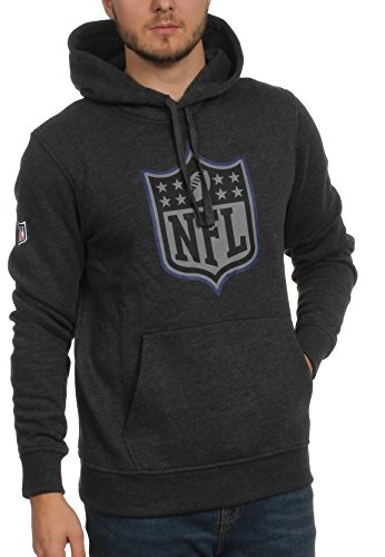 New Era Two Tone Pop Herren Sweater NFL LOGO Dunkelgrau Charcoal