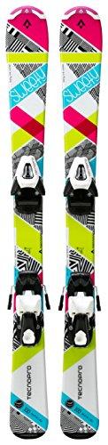Ski-Set Sweety Jr. NTC45/NTL75 WEISS/PINK/TÜRKIS 80