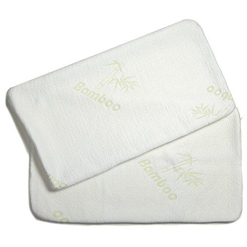 Kissenbezug für Visco Kissen Nackenstützkissen Bamboo 70x36x15 Torrent aqua-textil 1000689