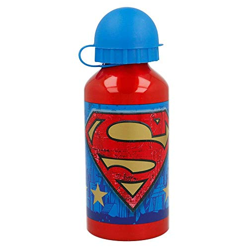 Botella Aluminio 400 ML   Superman Symbol