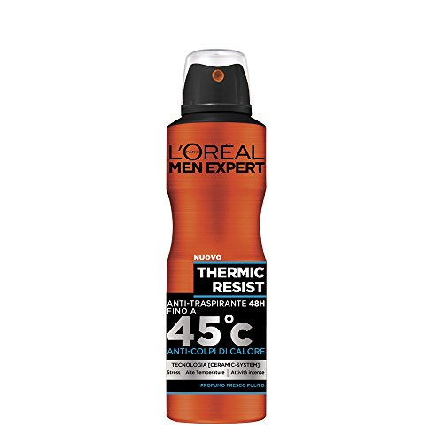 L'Oréal Paris Men Expert Thermic Resist Deodorante Uomo Spray Anti-Traspirante - 150 ml