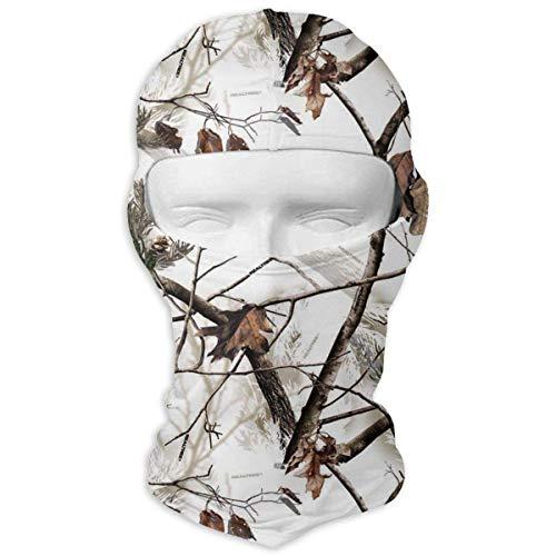 Jxrodekz Weiße Realtree Camo Motorcyle Gesichtsmaske Multifunktionale Sportmagie Headwear -