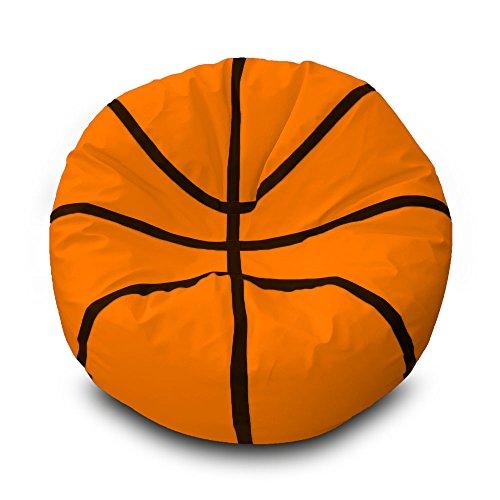Pufmania Sitzsack Basketball Ø100cm 100 x 100 cm orange