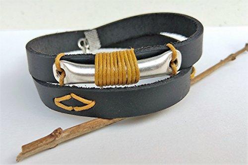 urban-custom-wrap-men-leather-bracelet-handmade-fashion-accessories