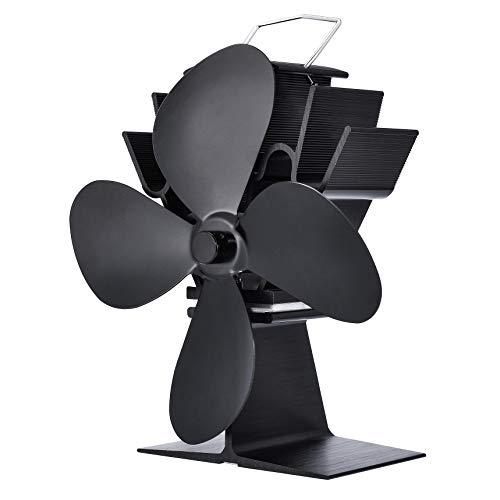 Tornado - 1 ventilador de estufa de madera