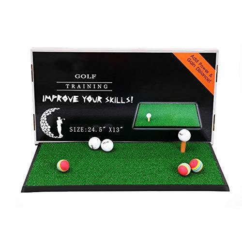 TESITE Golf Putting Praticante/Tappetino per Bambini al Coperto Portatile Mini Pad (63 * 33cm)