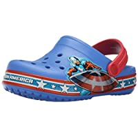 Crocs Crocband Captain America Clog (Toddler/Little Kid)