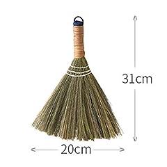 Idea Regalo - ZZYUBB Archaize Manuale Scope Wood Floor Spazzare Scopa Domestica Paglia Intrecciata Spazzare Broom Floor Cleaning Tools