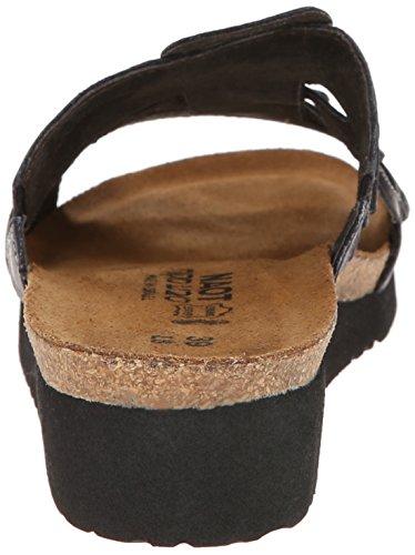 Naot sandy 04430 clogs &, mules à talons-femme - Schwarz (Black B25)