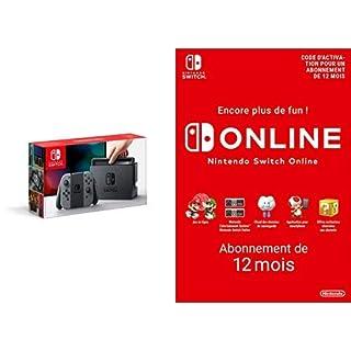 Console Nintendo Switch avec paire de Joy-Con : gris + Switch Online 12 Mois [Download Code] (B07MDGQXLM)   Amazon price tracker / tracking, Amazon price history charts, Amazon price watches, Amazon price drop alerts