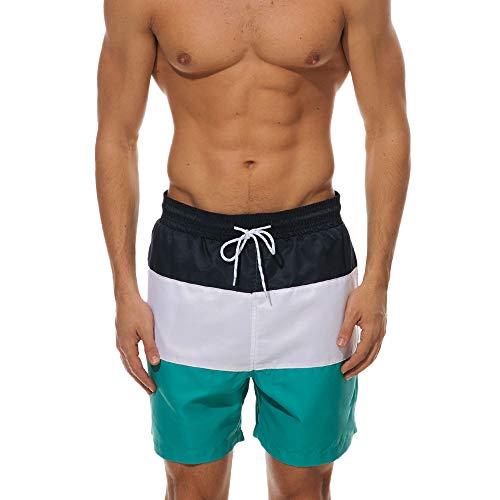 Vovotrade Block Swim Shorts Costume da Bagno Uomo