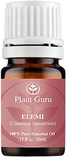 Elemi Aceite Esencial 5ml. 100% Pure, sin diluir, terapéutica grade. por planta gurú