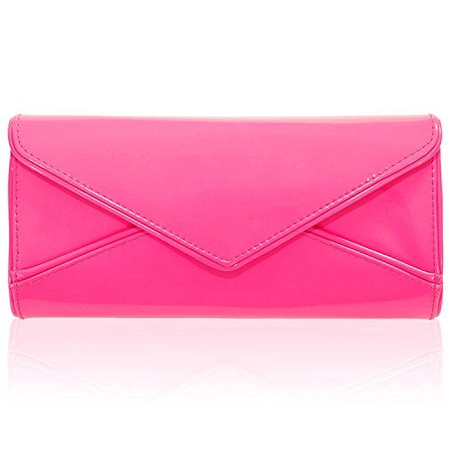 ZARLA, Borsa a spalla donna Rosa (Rosa neon)