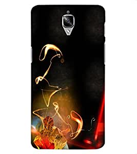 ColourCraft Printed Design Back Case Cover for OnePlus 3T