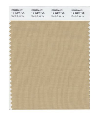Pantone 16-0920 TCX Smart Color Swatch Card, Curds & Whey by Pantone