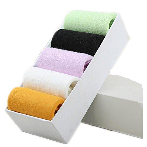 ldmb-chaussettes-pour-femmes-5-paquets-absorbant-la-transpiration-confortable-coton-pur-coton-haute-