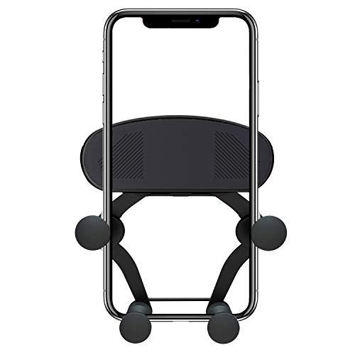 Soporte Móvil para Coche,Soporte Smartphone Vehículo para Rejilla del Aire 360 ° Rotación para iPhone Xs X 8 Huawei P20 P10 Samsung S9 S8 Xiaomi Mi A1 Mi A2 Mi Mix 2S Mi 6 bq aquaris x