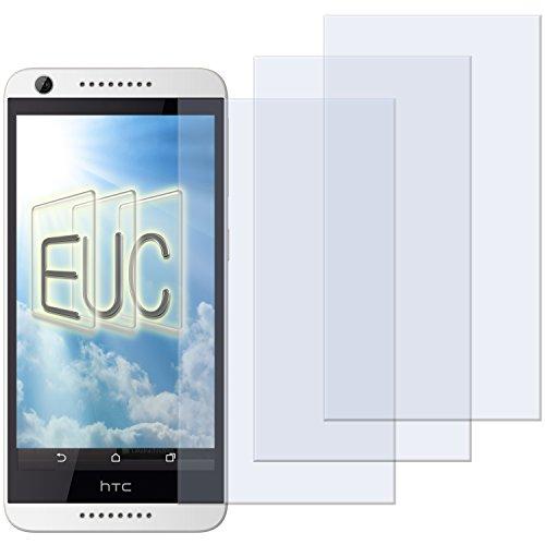 3 x Displayschutzfolie matt/entspiegelnd für HTC Desire 620G