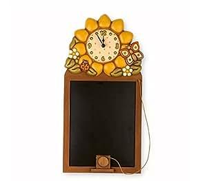 thun oggetti decorativi lavagna con orologio country