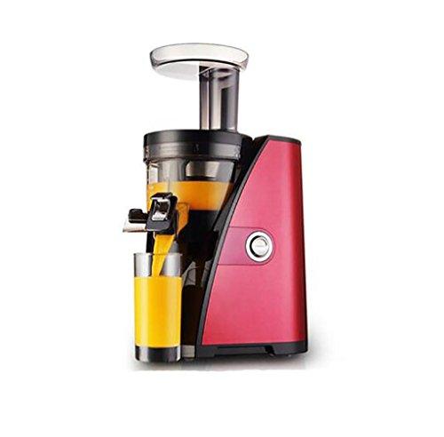 QMMCK Saftpresse Haus Automatische Sojabohnen-Milchmacher Saftmaschine Rot