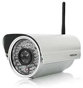 Foscam FI8905W Outdoor Wi-Fi IP Camera with 30m Night Vision and Email Motion Detection Home Security