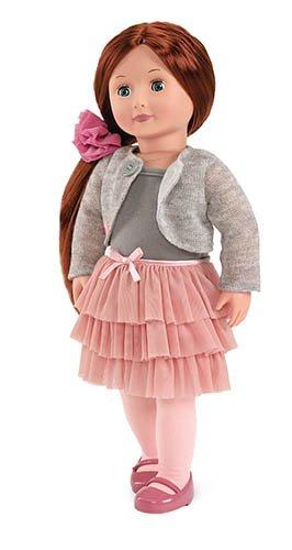 Our Generation BD31008Z - OG - Ayla Puppe mit Rüschenrock, 46 ()