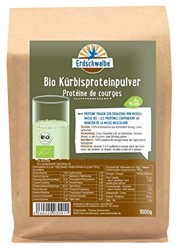 Erdschwalbe Bio Kürbiskern Protein - 58%...