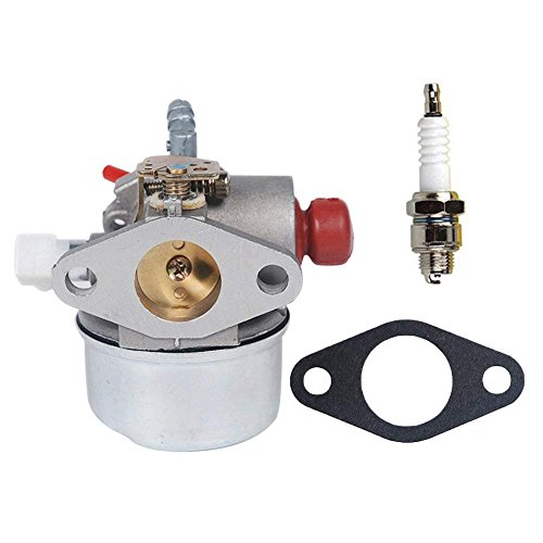 OxoxO Replace Carburetor Carb with Spark Plug for Tecumseh 640173 640174 640262 640262A 640124 640156 640168 LEV110 LEV115 LEV120 (Plug Mount Air)