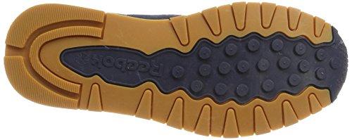Reebok Classic Leather SG, Baskets Homme Bleu (Collegiate Navy/chalk-gum)