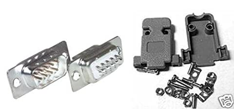 Tray Connector Kit DB9Male Serial 9Pin RS232