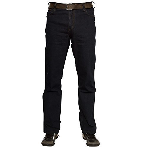 Wrangler Herren Texas Jeans, Blau-Schwarz, 34W / 34L (Dunkle Jeans-hose)